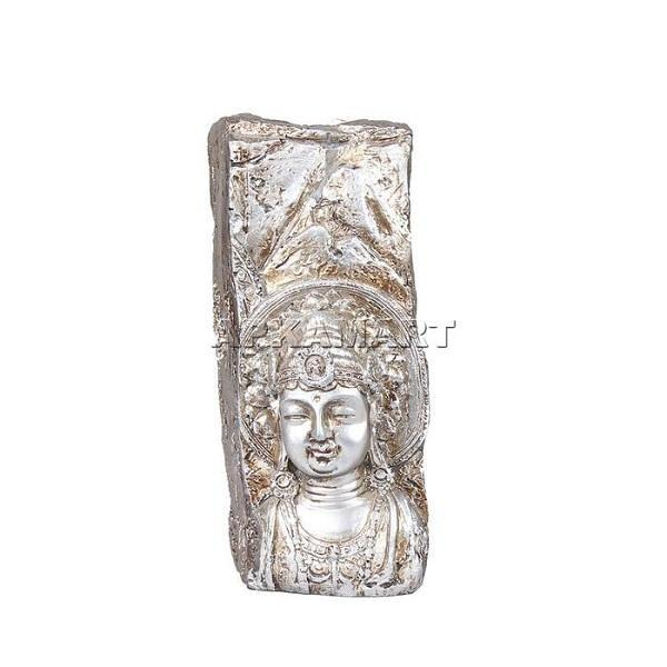 APKAMART Rock Buddha T Light Holder 6 Inch