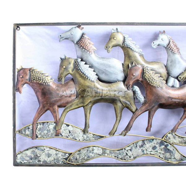 APKAMART Running Horse LED Wall Hanging