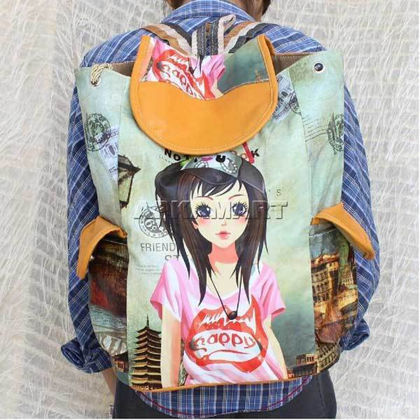 APKAMART Self Design Backpack