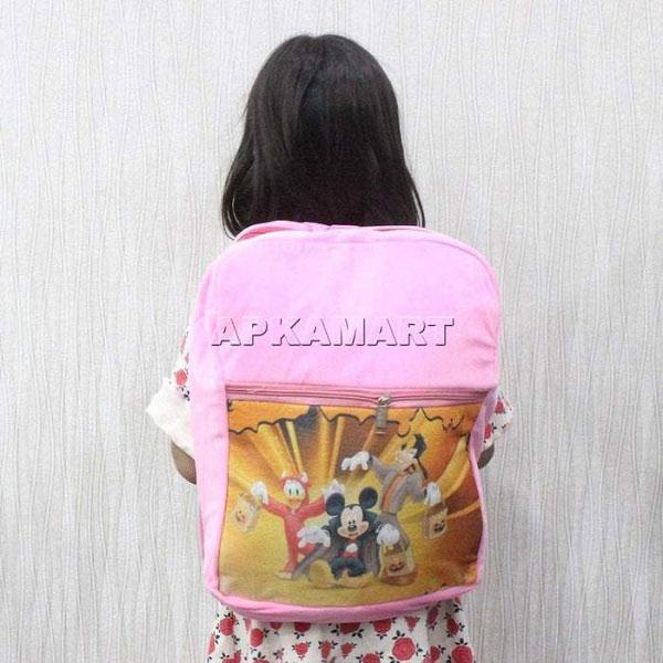 APKAMART Shiny Pink Kids Bag