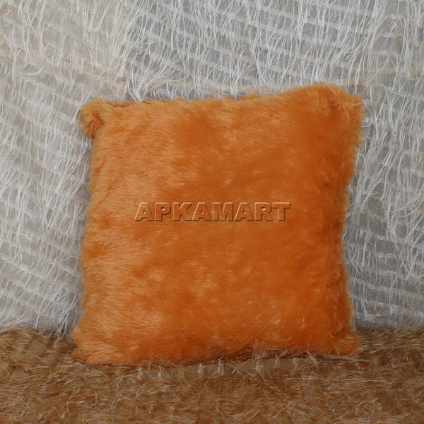 APKAMART Soft Brown Pillow