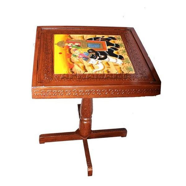 Square Side Table Set 20 Inch - ApkaMart