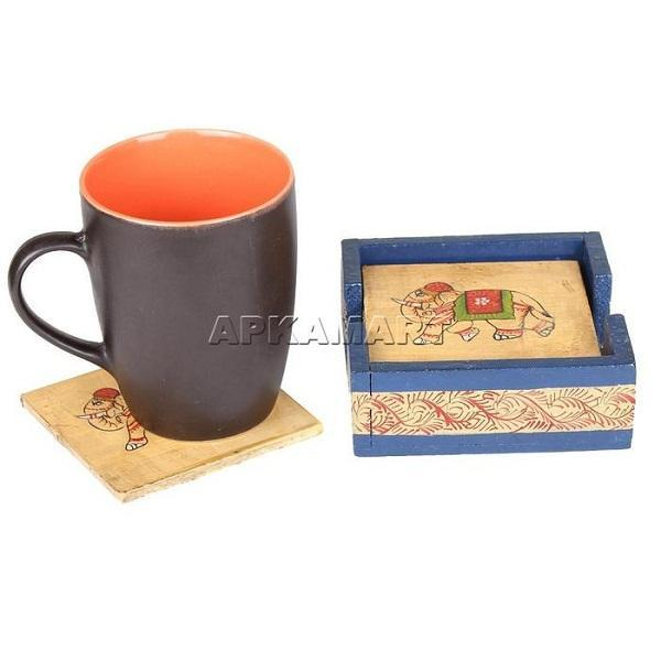 APKAMART Table Coaster Stand 4 Inch