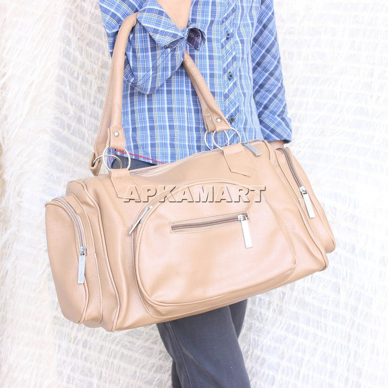 APKAMART Textured Shoulder Bag