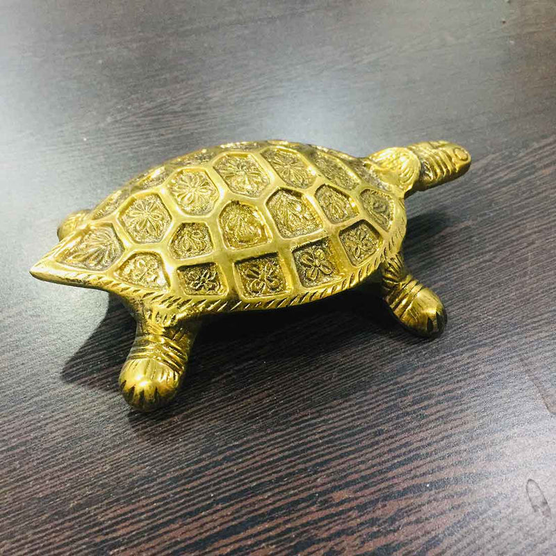 Tortoise Showpiece 6 inch for Home Decor - ApkaMart