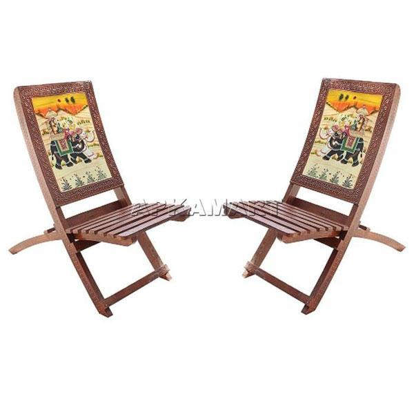 APKAMART Traditional Chairs Set 36 Inch