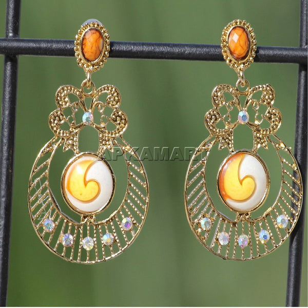 APKAMART Traditional Drop Earrings