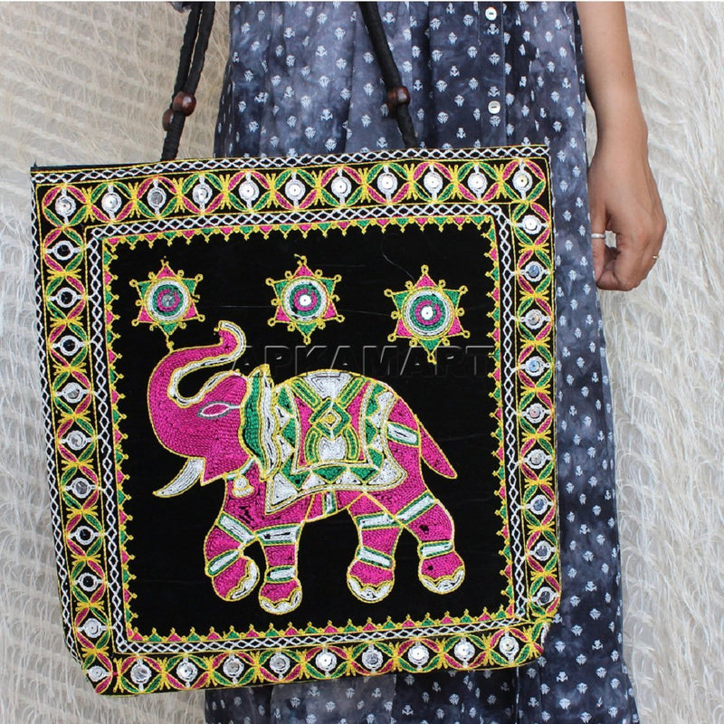 Traditional Gujarati Tote Bag - ApkaMart