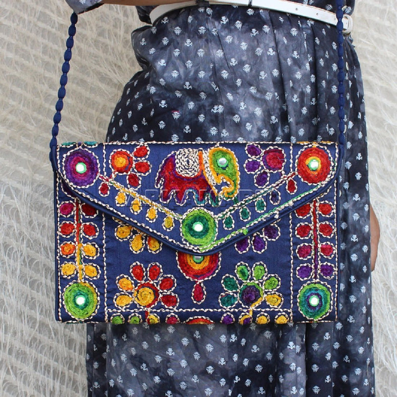Traditional Gujarati Women Clutch
