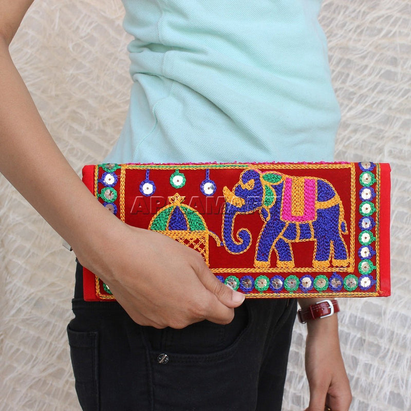 Traditional Handwoven Clutch - ApkaMart