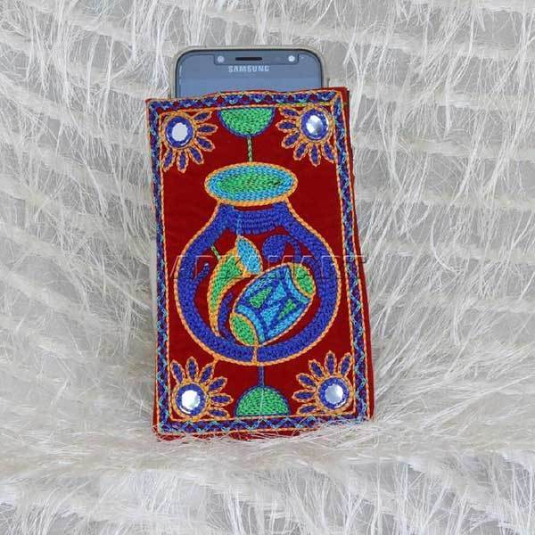 APKAMART Traditional Women's Mobile Pouch