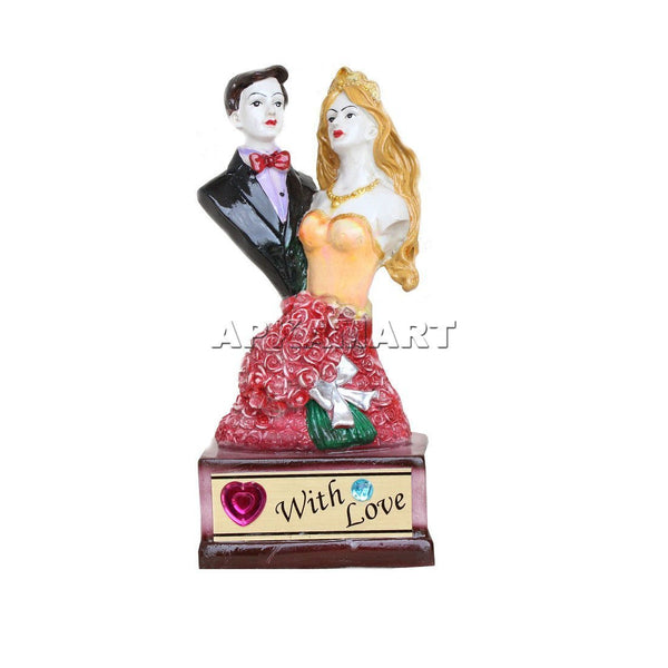 APKAMART Valentine Gift Couple Showpiece