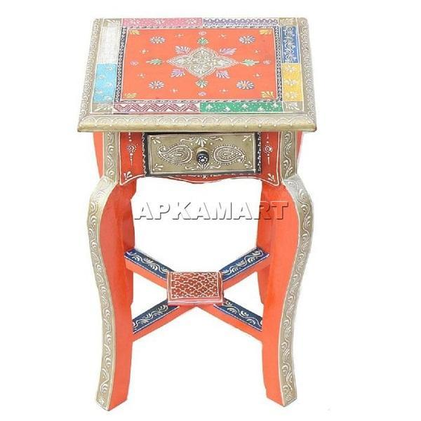 APKAMART Vintage Table 18 Inch