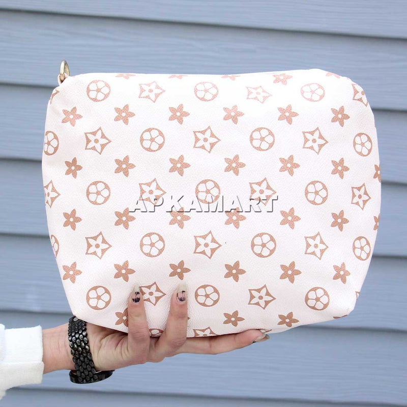 APKAMART White Printed Bag