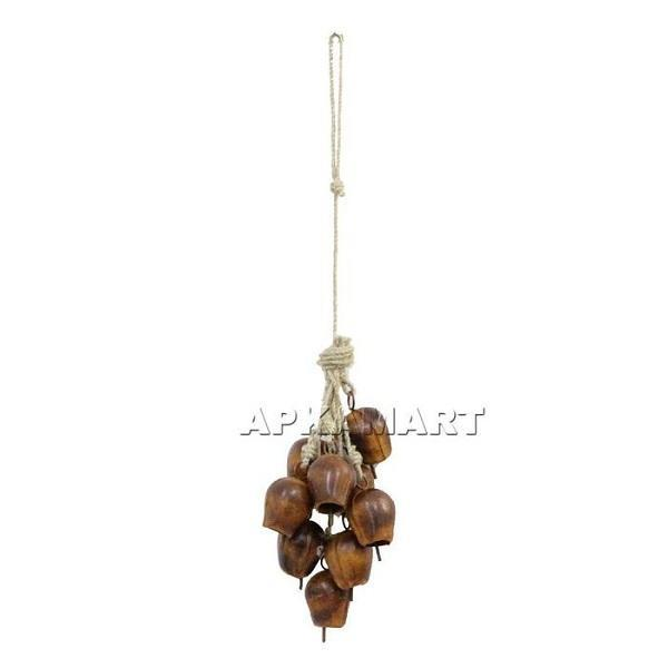APKAMART Wind Chime Cow Bell 20 Inch