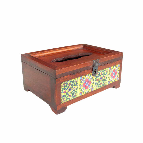 Wooden Tissue Holder 9 inch