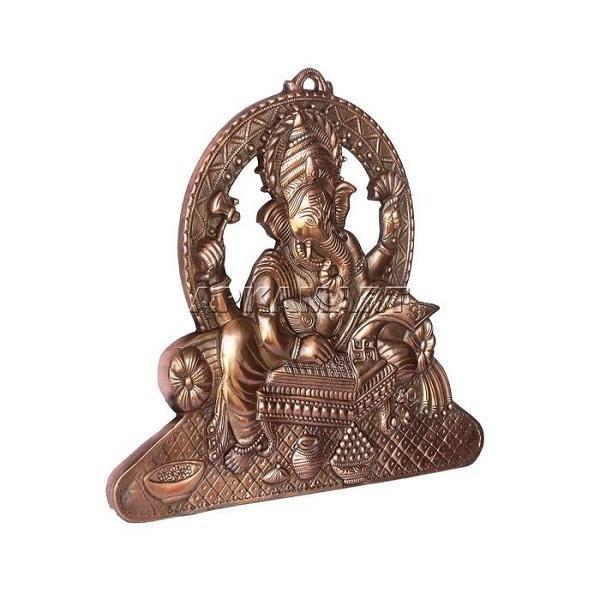 APKAMART Writing Ganesh Wall Hanging 15 Inch