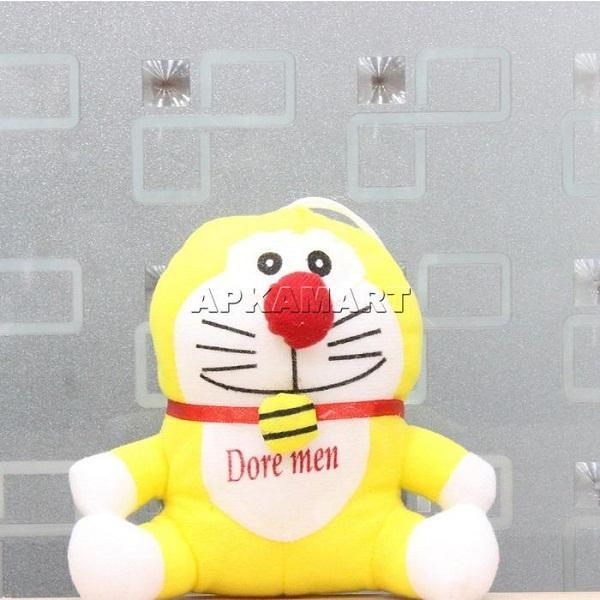 APKAMART Yellow Smiling Soft Toy