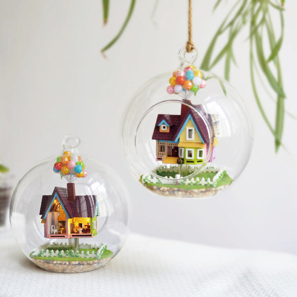 DIY Glass Ball House Series