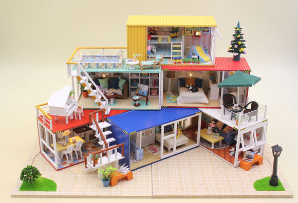 DIY Large Doll House Series