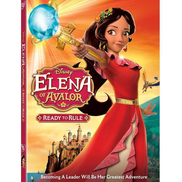 Disney Elena of Avalor Ready to Rule DVD