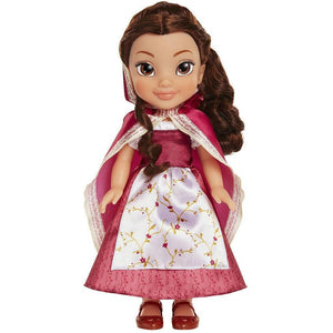 Disney Beauty and the Beast Belle Red Dress Cape Doll - Brunette