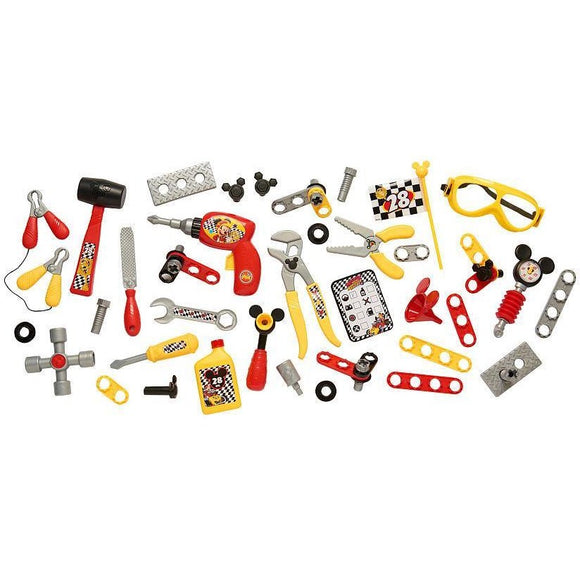 Disney Junior Mickey and the Roadster Racers Pit Crew Tool Set - 50 Piece