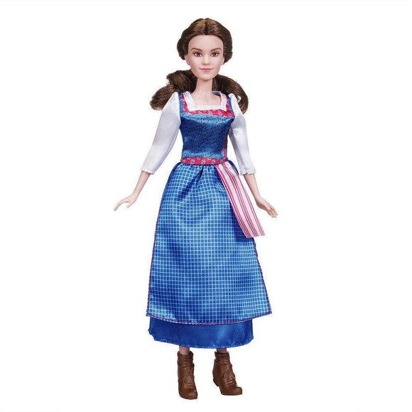 Disney Beauty and the Beast Belle Village Dress Doll - Brunette