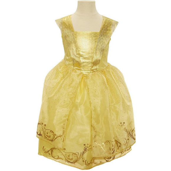 Disney Beauty and the Beast Live Action Belle Deluxe Dress - Child Size 4-6X