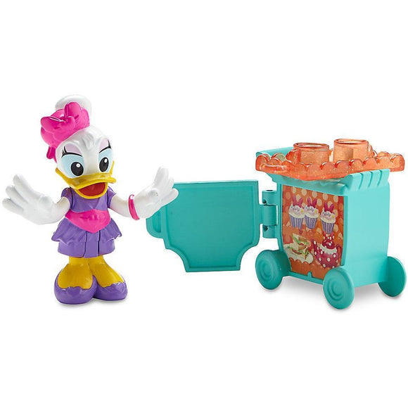 Flight Attendant Daisy Duck Action Figure - Minnie's Happy Helpers