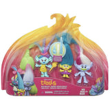 DreamWorks Trolls Wild Hair Pack Doll Set