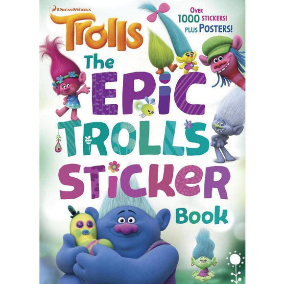 DreamWorks Trolls The EpicDreamWorks Trolls Sticker Book
