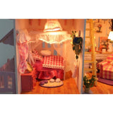 My Little House Pink DIY Miniature Dollhouse