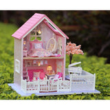 Pink Cherry Blossoms TOTORO Version DIY Large Dollhouse