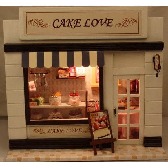 Cake Love DIY European Shop Series