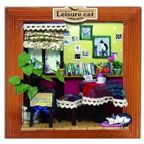 DIY Picture Frame - Leisure Cat Coffee Shop
