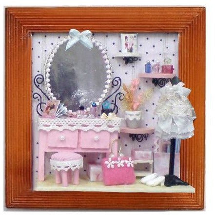 DIY Picture Frame - Pink Luxury