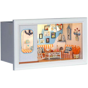 Long Vacation DIY Miniature Dollhouse