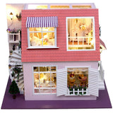 Elegant Roof Terrace DIY Miniature Dollhouse