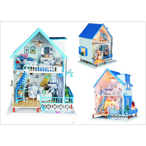 Falling Love In Santorini DIY Miniature Dollhouse