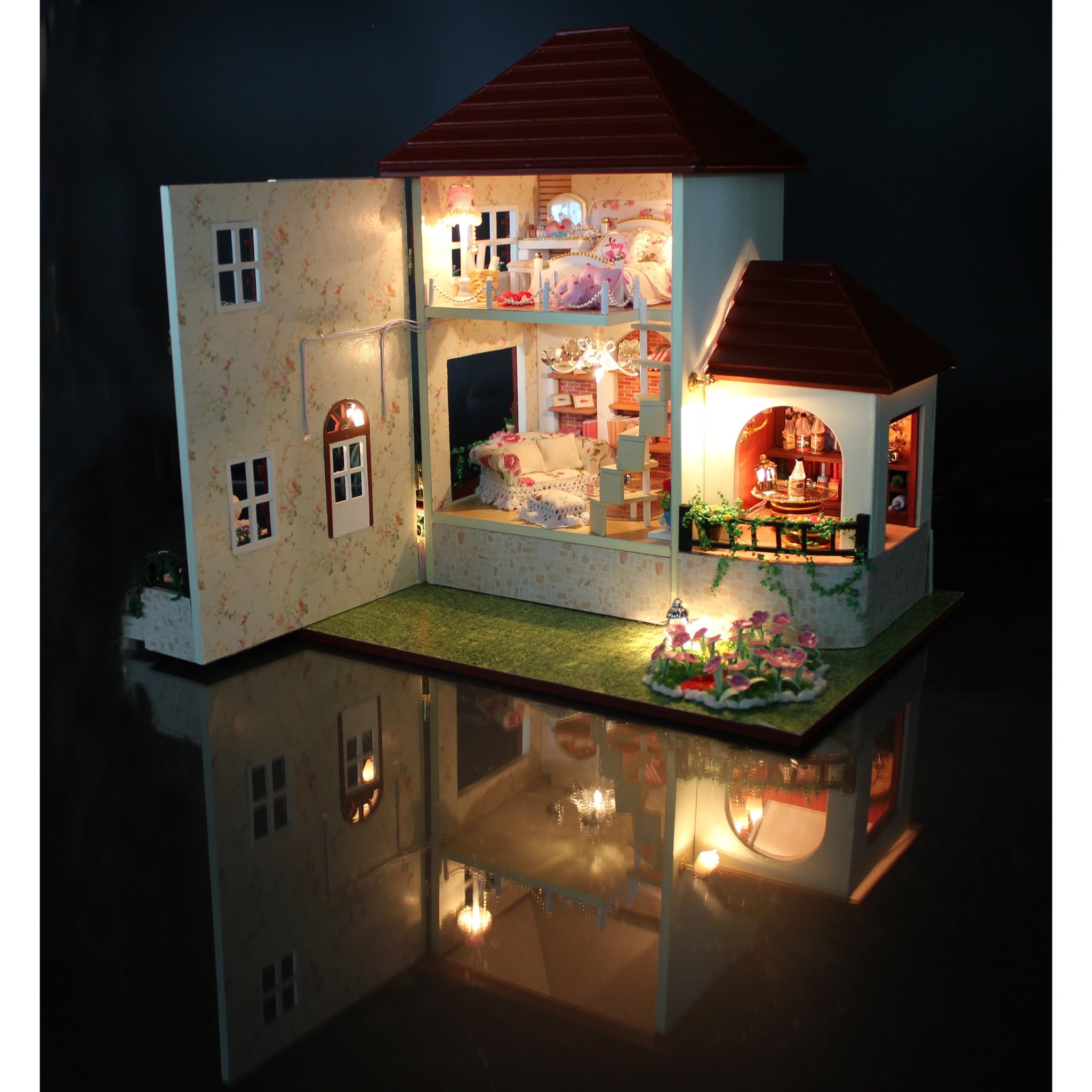 Dollhouse Lighting Electrical Wiring Doll House Wire Your Iwooco