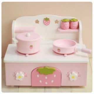 Mother Garden Strawberry Kitchen Stove Set (FOR PRE-ORDER ONLY)