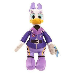 Disney Junior Mickey and the Roadster Racers Bean Stuffed Daisy Duck - White