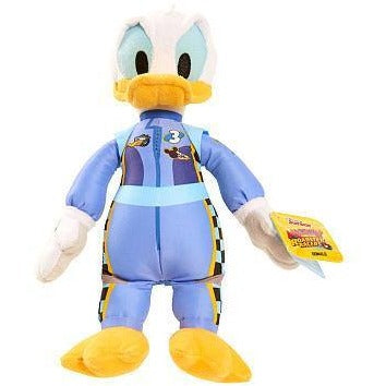 Disney Junior Mickey and the Roadster Racers Bean Stuffed Donald - White