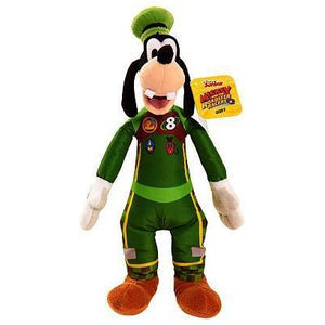 Disney Junior Mickey and the Roadster Racers Stuffed Goofy - Green