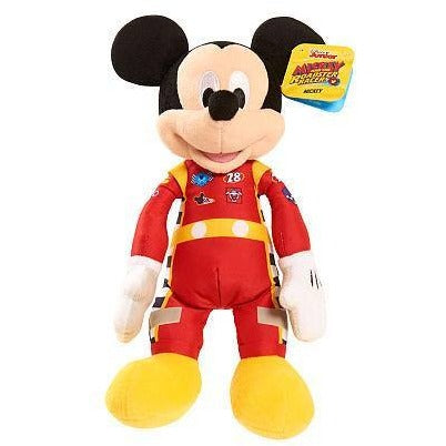Disney Junior Mickey and the Roadster Racers Bean Stuffed Mickey - Tan