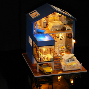 Seattle Yellow Car DIY Large Dollhouse
