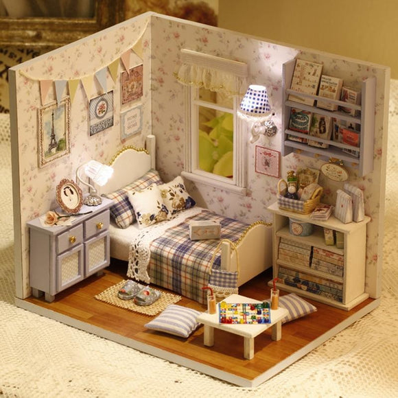 Sunshine Overflowing DIY Small Dollhouse