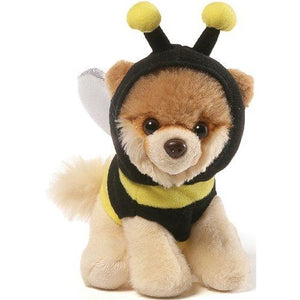 "Itty Bitty Boo Bee Stuffed Dog 5"" Inch Plushie"