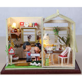 Cozy Kitchen DIY Miniature Dollhouse